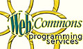 WebCommons :: Web Programming Services — PHP Programming Experts (New Window)